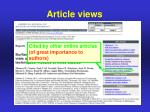 article views5