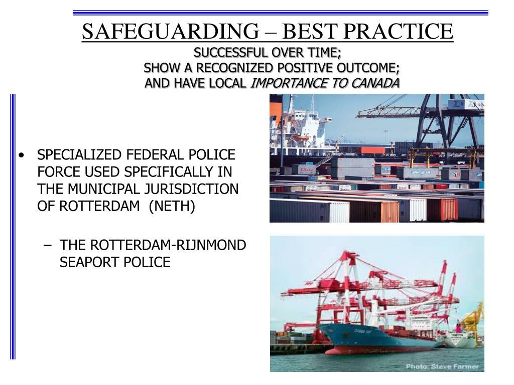 SAFEGUARDING – BEST PRACTICE