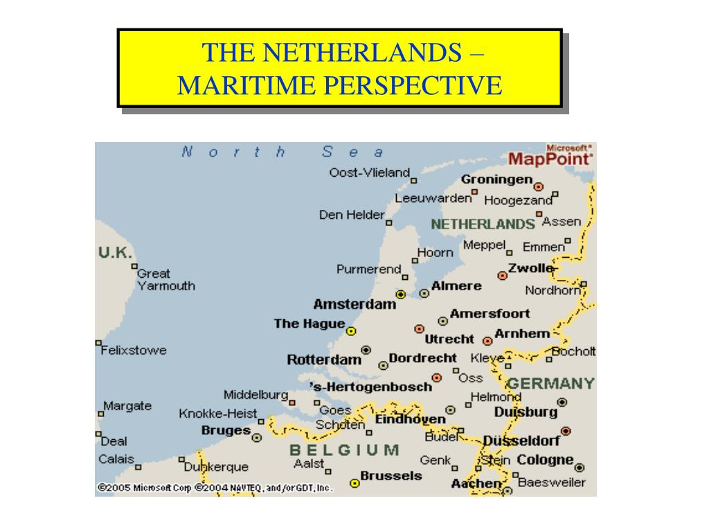 THE NETHERLANDS – MARITIME PERSPECTIVE