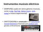 instrumentos musicais el ctricos
