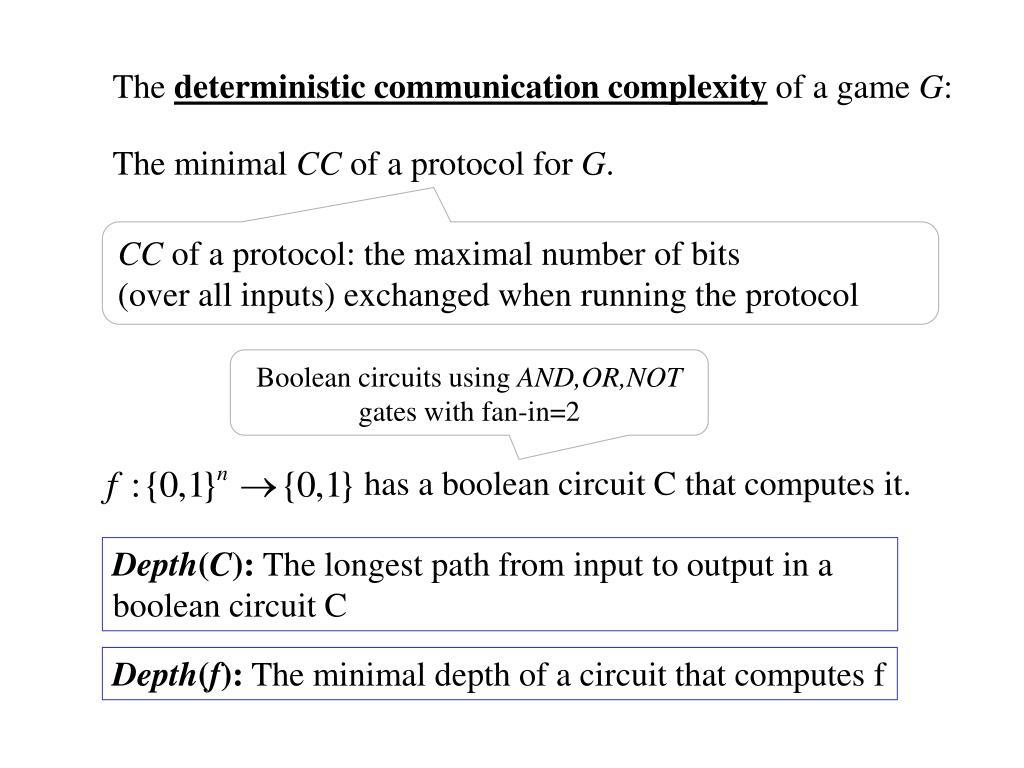 has a boolean circuit C that computes it.