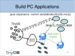 build pc applications