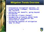 mitigation trends overview1