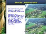retrofits setback levees
