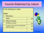 income statement by nature1