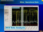kilns operational data