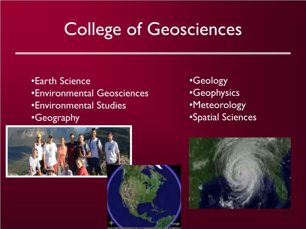 College of Geosciences