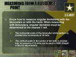 measuring from a reference point13