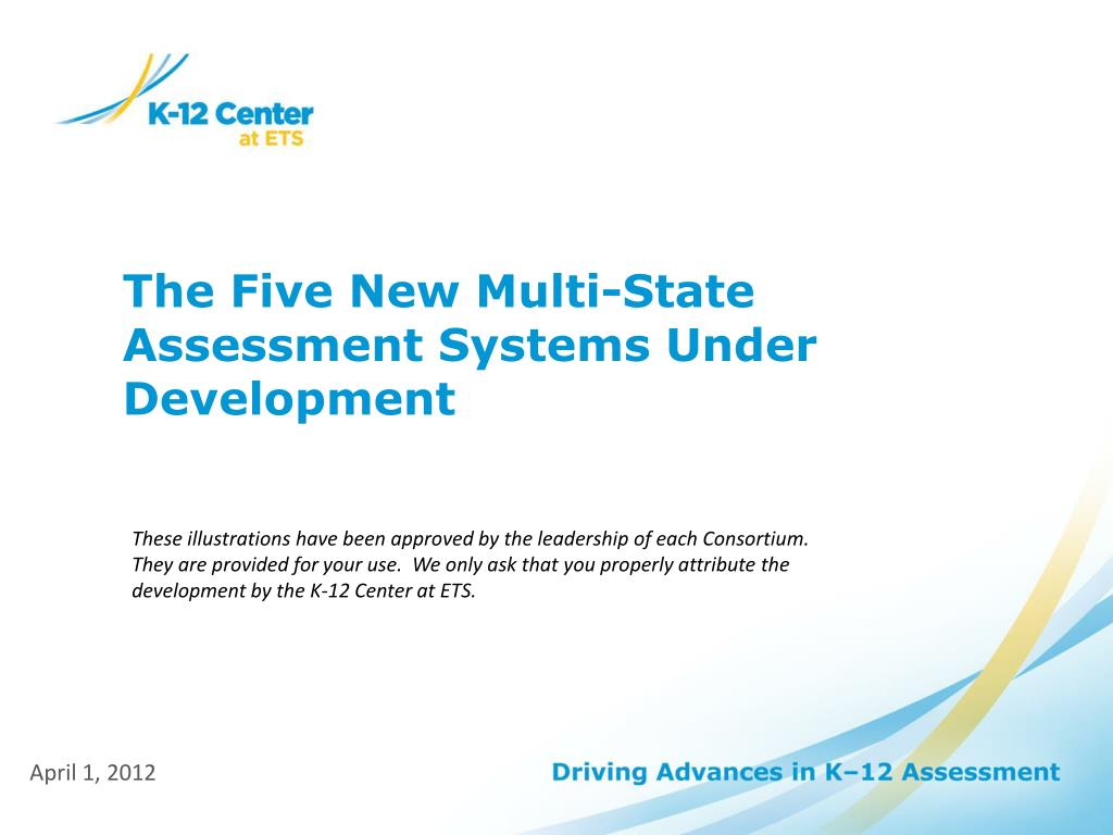 the five new multi state assessment systems under development l.