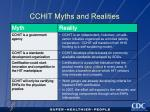 cchit myths and realities