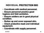 individual protection bio