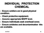 individual protection chemical