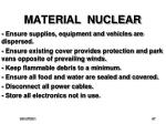 material nuclear