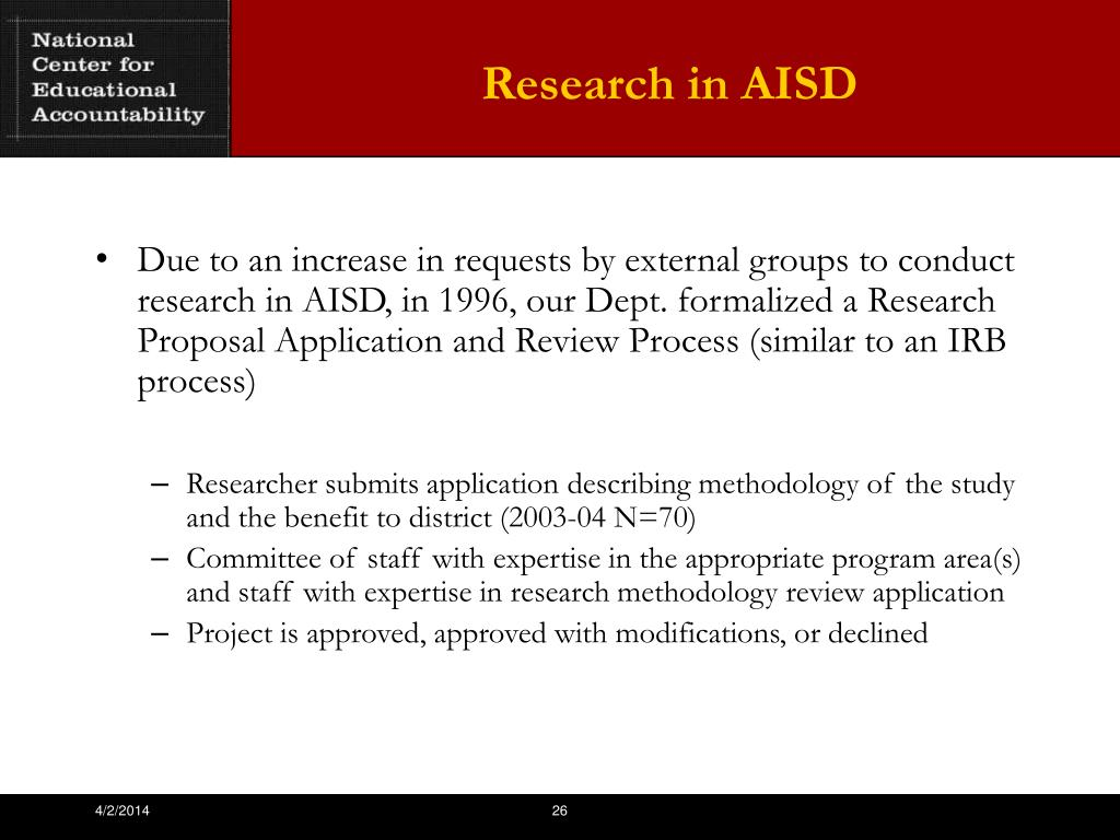 Research in AISD