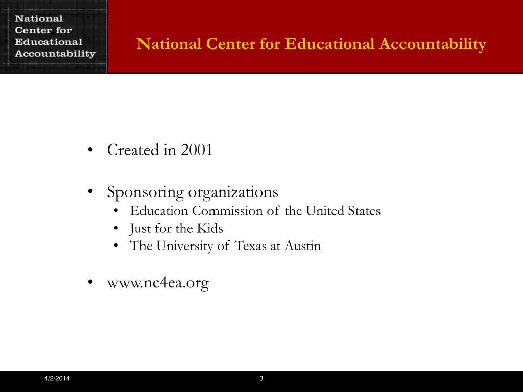 National Center for Educational Accountability