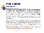 hot topics insurance