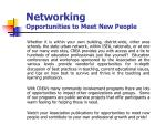 networking opportunities to meet new people