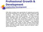 professional growth development leadership development