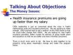 talking about objections the money issues3