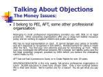 talking about objections the money issues4
