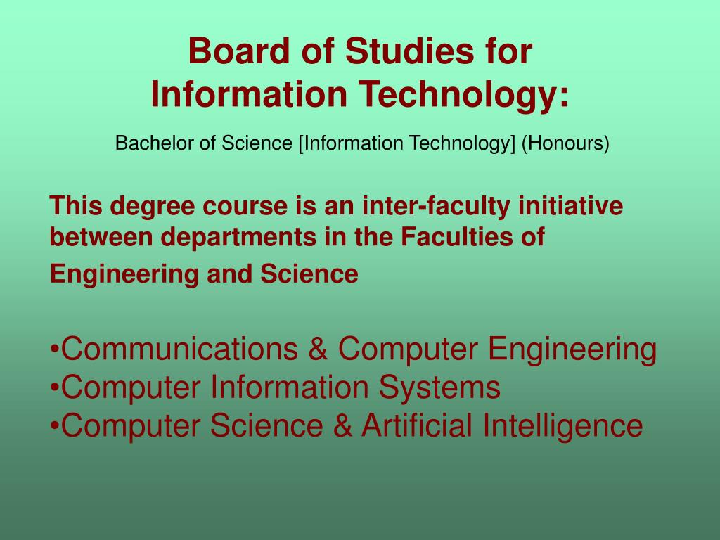 Board of Studies for