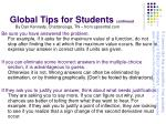 global tips for students continued1