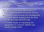 maritime transport proposed actions16