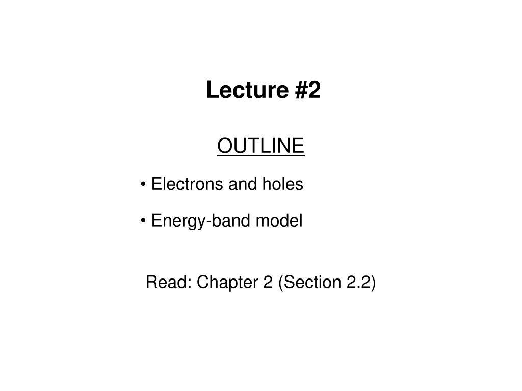 lecture 2 l.