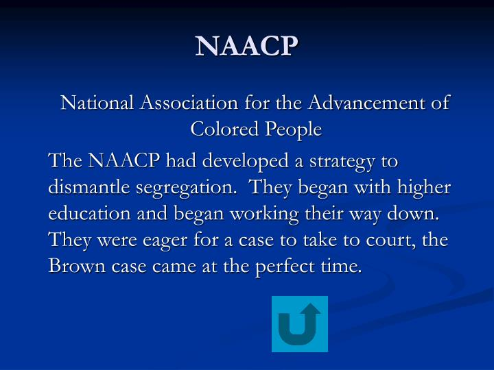 an introduction to the analysis of naacp
