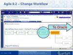 agile 9 2 change workflow