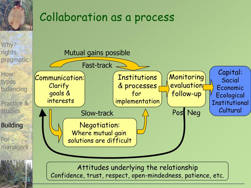 Collaboration as a process