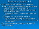 earth as a system 1 4