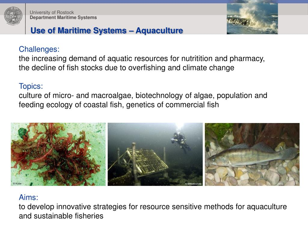Use of Maritime Systems – Aquaculture