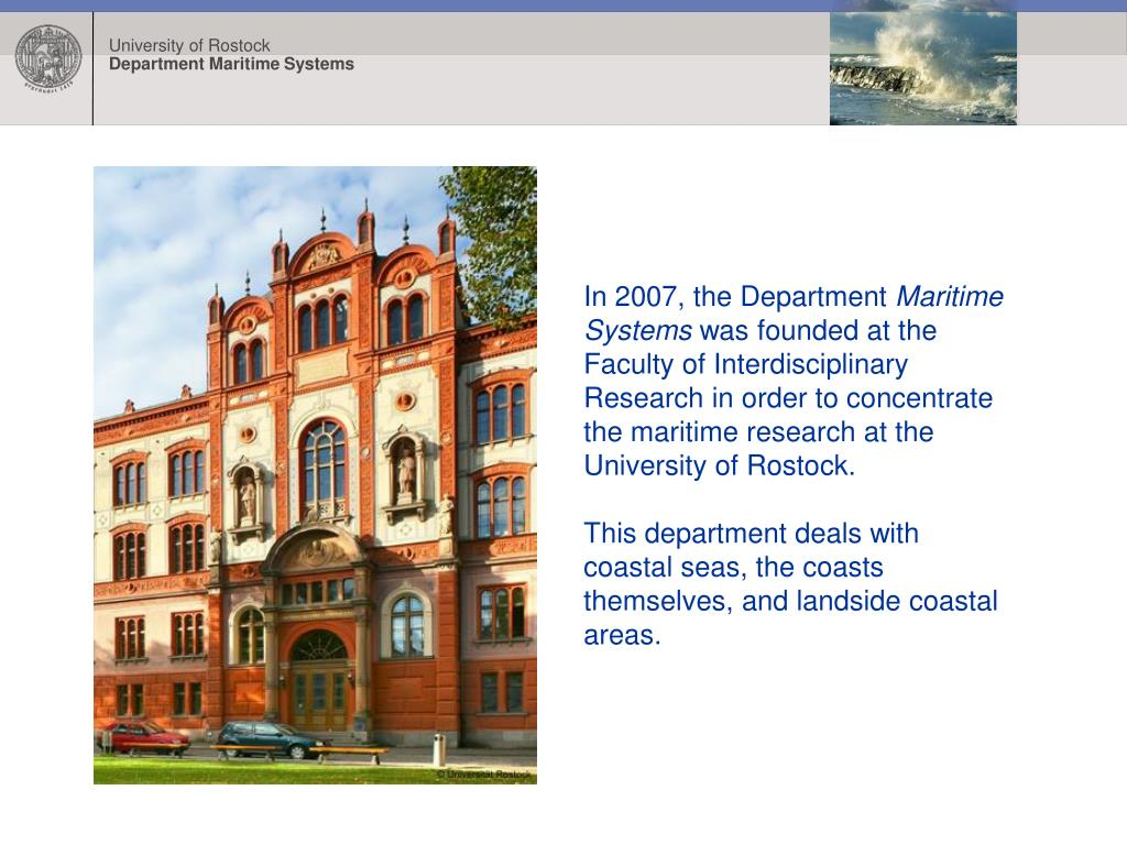 In 2007, the Department