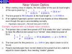 near vision optics