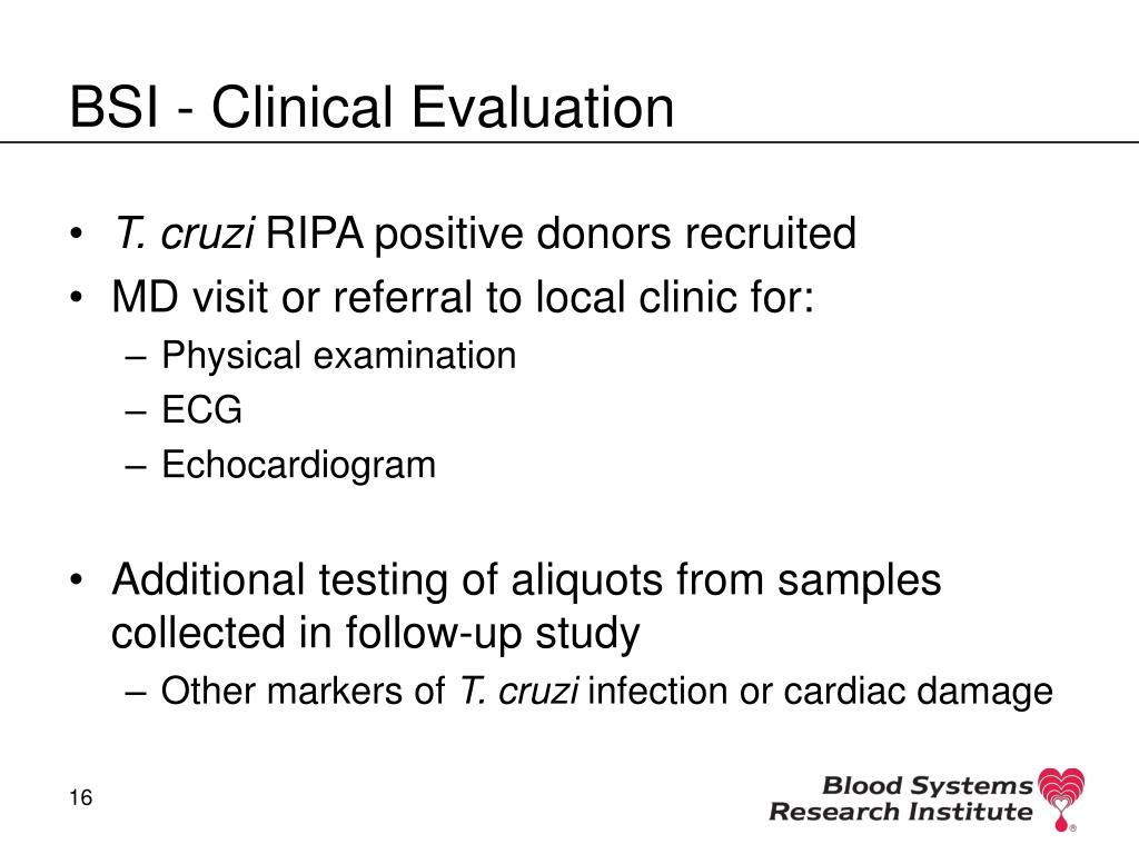 BSI - Clinical Evaluation