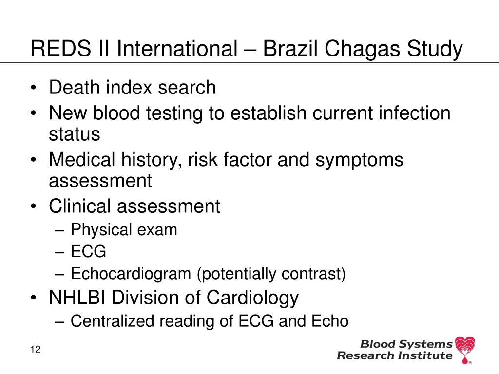 REDS II International – Brazil Chagas Study