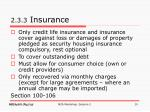 2 3 3 insurance