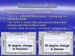 nearness to water