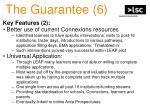 the guarantee 6