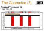 the guarantee 7
