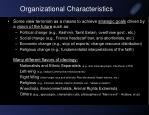 organizational characteristics1