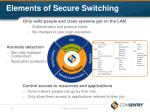 elements of secure switching