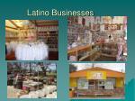 latino businesses