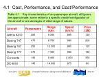 4 1 cost performance and cost performance