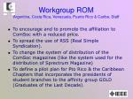 workgroup rom argentina costa rica venezuela puerto rico caribe staff