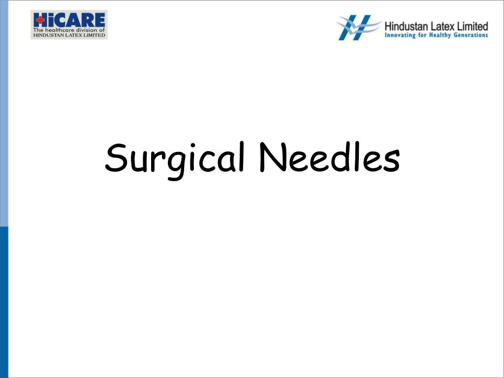 surgical needles l.