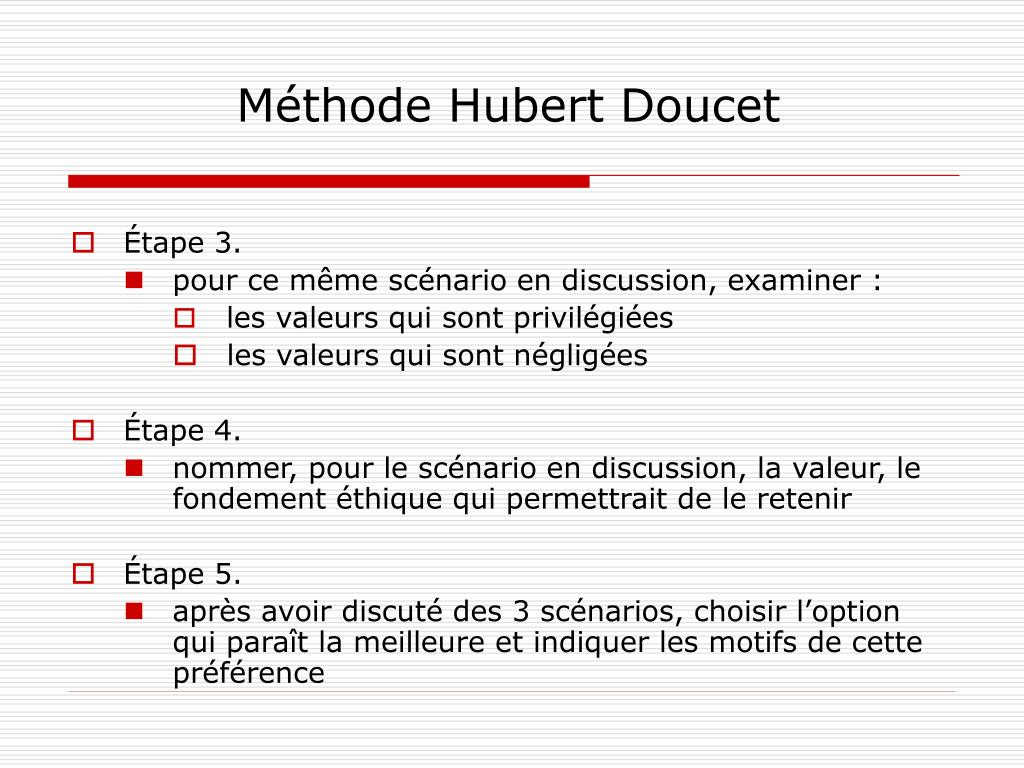 Méthode Hubert Doucet