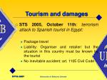 tourism and damages