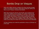 bombs drop on vieques